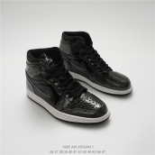 Nike Air Jordan 1 OG High Silvery Black