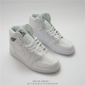 Nike Air Jordan 1 OG High All White