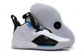 Air Jordan 33 White Blue