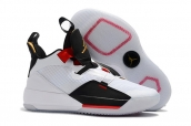 Air Jordan 33 White Red