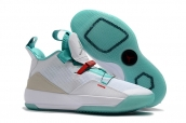 Air Jordan 33 White Green