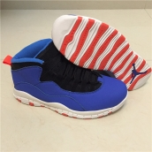 Air Jordan 10 Treasure Blue Red