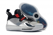 Air Jordan XXXIII PF 33 Black  Silver