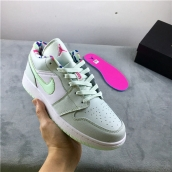 Air Jordan 1 Low Mint Green