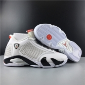 Supreme x Air Jordan 14 White Red