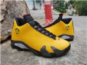 Air Jordan 14 Yellow Black
