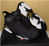 Air Jordan 6 Black Gold