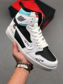 Air Jordan 1 Retro High OG White Black Blue