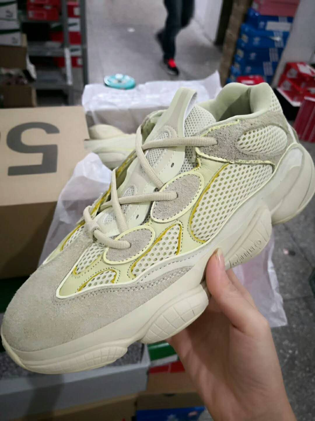 ad7205ef46338 Super Perfect Adidas Yeezy Desert Rat 500 Super Moon Yellow,Products ...